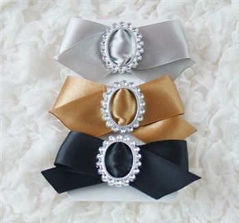 1950's The Sophisticate Collection Satin Trio Bows