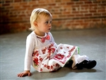 Christmas Hankie Babydoll Dress