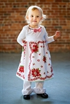 Babydoll Retro Christmas Hankie Dress