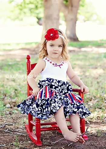 Firecracker Princess Dress