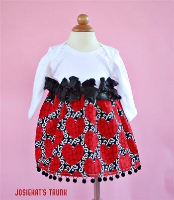 be still my heart valentine dress - Girls Valentine Dress