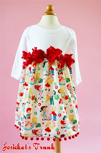 Holiday Candy Shop Dress