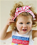 Retro Custom Top Knot Headband