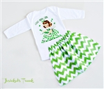 St. Patrick's Irish Girl Day Skirt Set