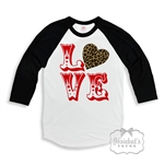 Valentine Black White Retro Shirt