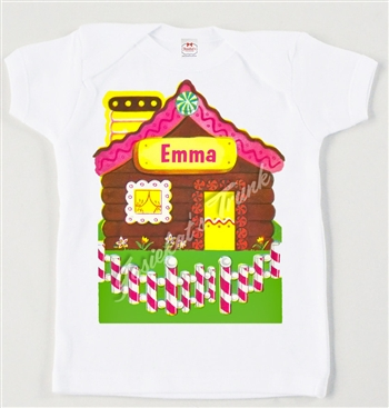 Retro Gingerbread House Vintage Tee