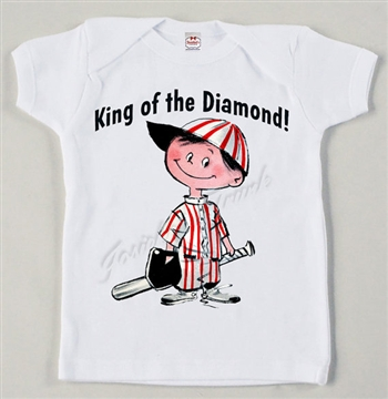 "Baseball ""King of the Diamond"" Vintage Tee"