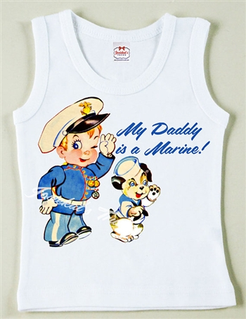 "Patriot ""My Daddy is a Marine"" Vintage Tee"
