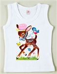 Retro Birthday Deer Vintage Tee