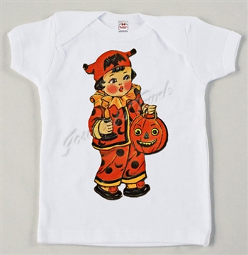Retro Halloween Trick or Treat Vintage Tee