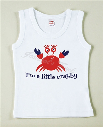 Lil' Crabby Boy Vintage Tee