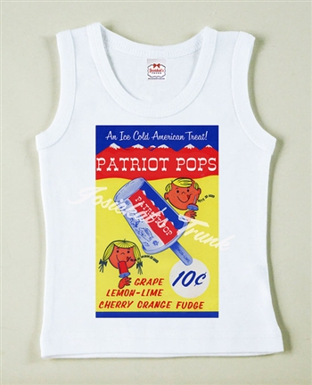 4th of July Patriot Pop Ice Cream Vintage Tee